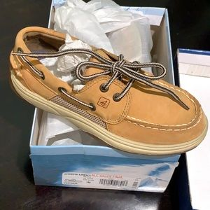 Suede Sperry Loafers